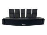 Bose VCS-10 Center Channel Speaker w/ 5 Bi-Directional Surround Speakers—TESTE Bose