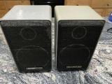 Numark MS-100A, Vintage Hi-Fi Stereo Mini 2-Way Speakers Speakers