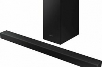 Samsung HW-T450 200W 2.1-Channel Bluetooth Soundbar w/ Wireless Subwoofer Samsung